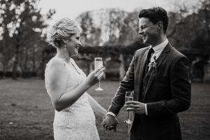 bride groom wedding dartington