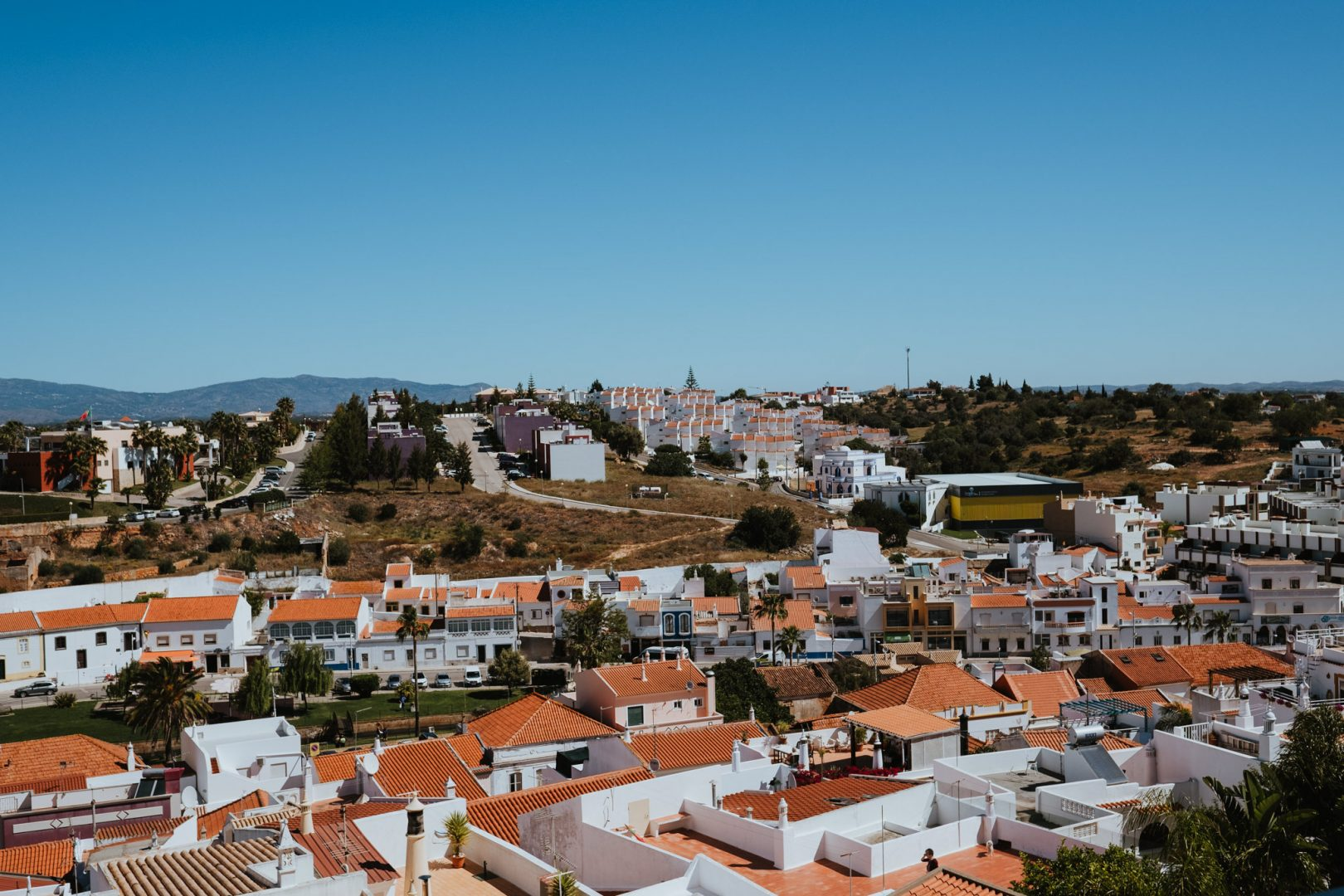views of portugal from bridal prep