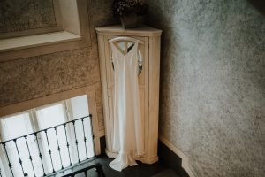 wedding dress at relais villa vittoria