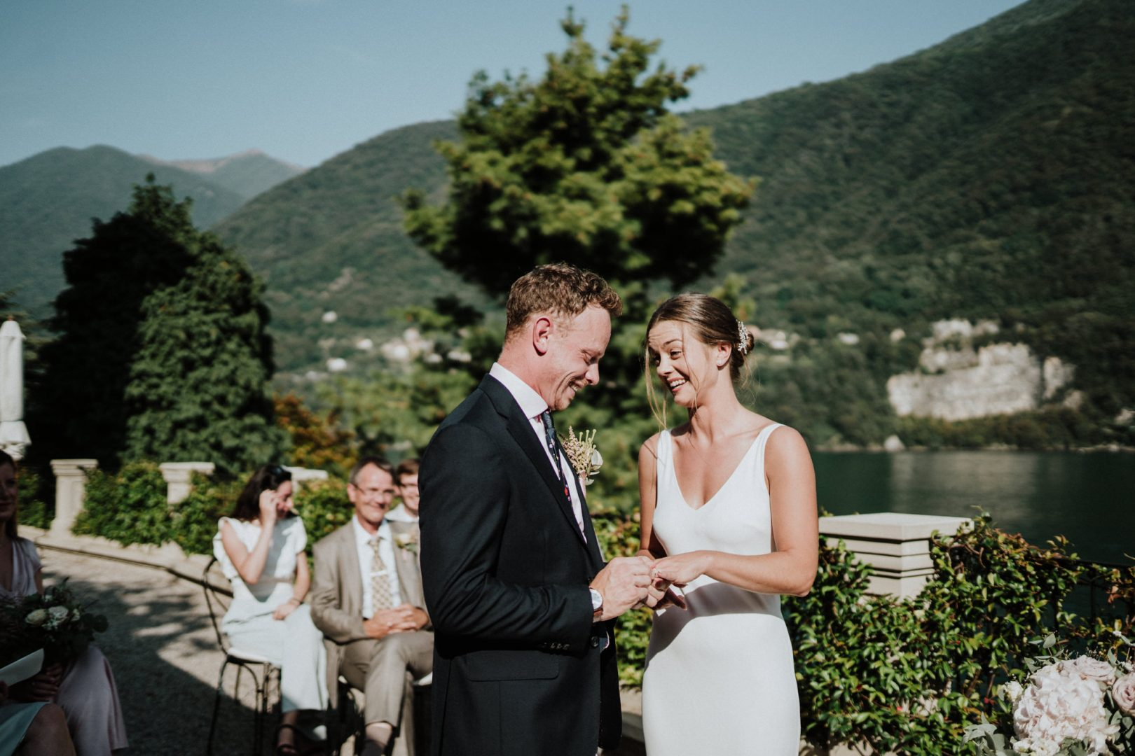 getting married lake como